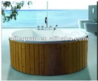 (726A) wooden round outdoor spas hot tub