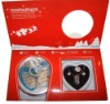 Christmas love Pearl gift 3-pcs set (3 colors english version)