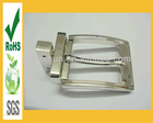 New design metal pin belts with changeable buckles for belt with unlead
