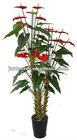 artificial flower tree ,artificial anthura plants,Christmas flower plant