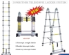 3 position telescopic ladder,telescopic ladder,ladder