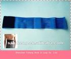 Gymnastic elastic velcro band