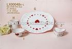Grade A stock porcelain plate