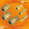 Europe type 6 Pieces Brass Air Quick Coupler Kit