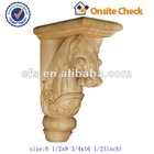 antique ornament of wood carving horse(EFS-YCY-062)