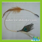 2012 popular goody feather hair ornaments wholesale ST048