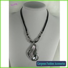 Alloy Tree Leaves Pendant Necklace
