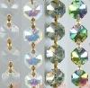 Fashion Octagon Crystal Chain