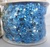 Plastic Wedding Garland 10-Yard Wedding Bead Garland BLUE