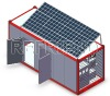Solar Power Refrigerator