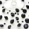 Beautiful Wedding Decoration Black Acrylic Diamond