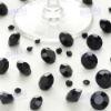 Beautiful Wedding Decoration Black Acrylic Diamond