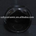 ceramic fragrance lamp black home decorative