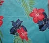larger flowers printed rayon single jersey fabric