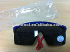 UV protective goggles in dark color