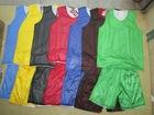 reversible basketball jersey training wear