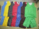 reversible basketball jersey training wear