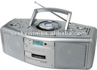 Portable dvd boombox external USB port&SD/MMC/MS slot