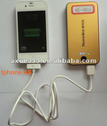 rechargeable mobile power bank 6000mAh