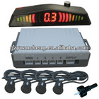 car parking sensor distance control system LED display
