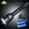 1000LM rechargeable super bright led tactical flashlight