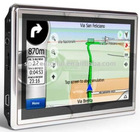4.8inch TFT-LCD screen,800*480 car gps system with built bluetooth and FM
