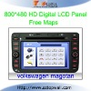 Special Touch Screen Bluetooth Car DVD GPS Player for Volkswagen Magotan with USB SD Card