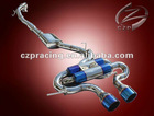 Full exhaust system for VW Golf R 2.0T 2011