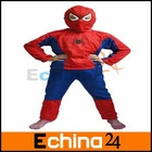 Brand News piderman clothes set Children Clothes Cosplay Clothes