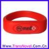 Silicon Bracelet USB 2.0 Flash Drive Low Price