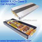 8000W Class D car amplifier