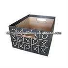 Kraft paper storage boxes in office