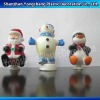 Christmas Decoration/plastic Christmas toy/Santa Clause Christmas Decoration