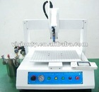2012 hot liquid semi-automatic glue drop machine/glue dispensor