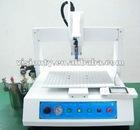 2012 hot liquid semi-automatic glue drop machine/glue dispensor