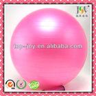 Transparent gym ball