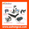 Hot sell combo heat press machine for 6 in 1