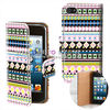 for iphone 5 leather sheath case with right & left open (SZLC-I5-028)