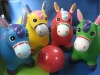 pvc inflatable Animal Toy--Green Kangaroo