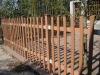 WPC garden railing