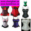 New Sexy Corset Top Laced Up Basques Customes Shapewear Sets Lingerie 8899