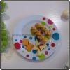 """8"""" Plastic Melamine Round Restaurant Dinner Plates"""