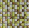 8mm colored-gold glass mosaic