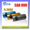 HD Car Dashboard Camera Dual lens Car Accident DVR Recorder(X3000)