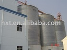 steel silos for soy bean storage with flat bottom
