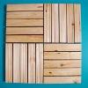 Pine decking tiles