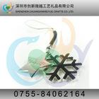 wholesale snowflake shape mobile phone strap