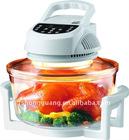 digital halogen light wave falvor turbo oven