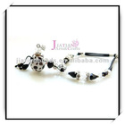 mini glass aroma perfume bottle bracelet