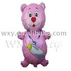 milk bear foil balloon